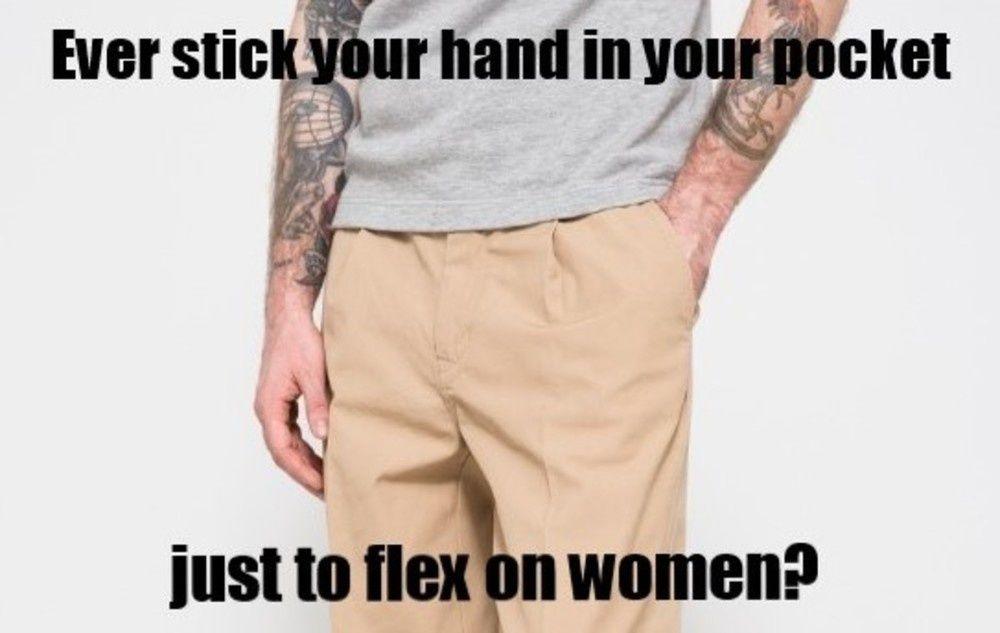 so i can grab my penis