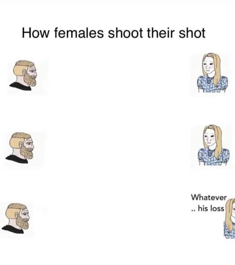 It's just a meme, not a debate topic