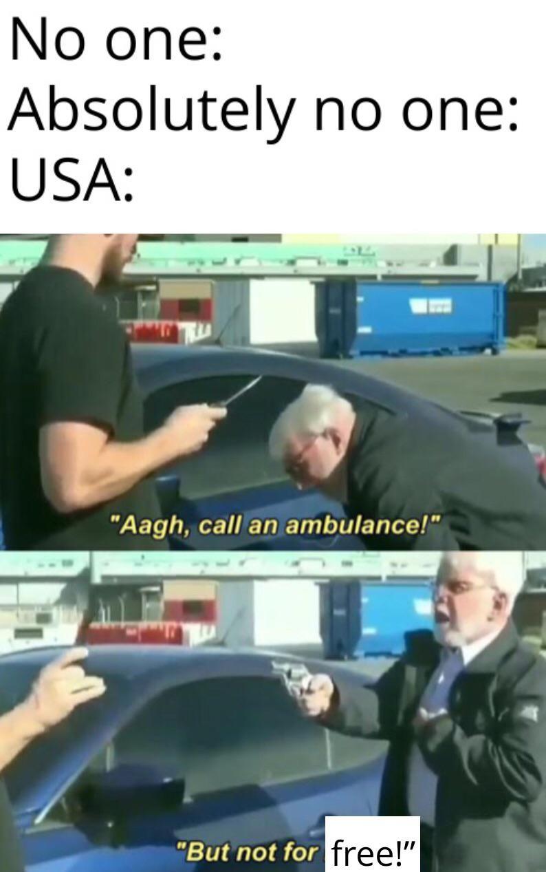 *confused European noises*