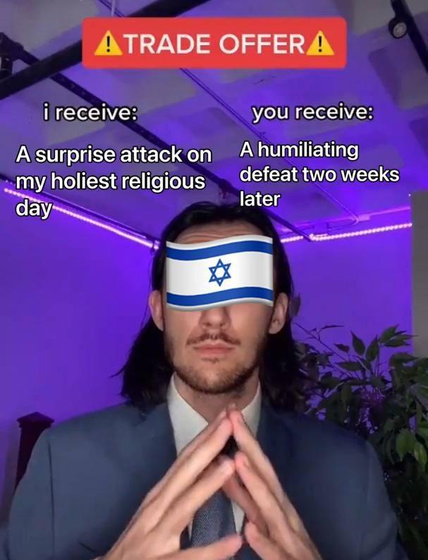 Yom Kippur war was something else