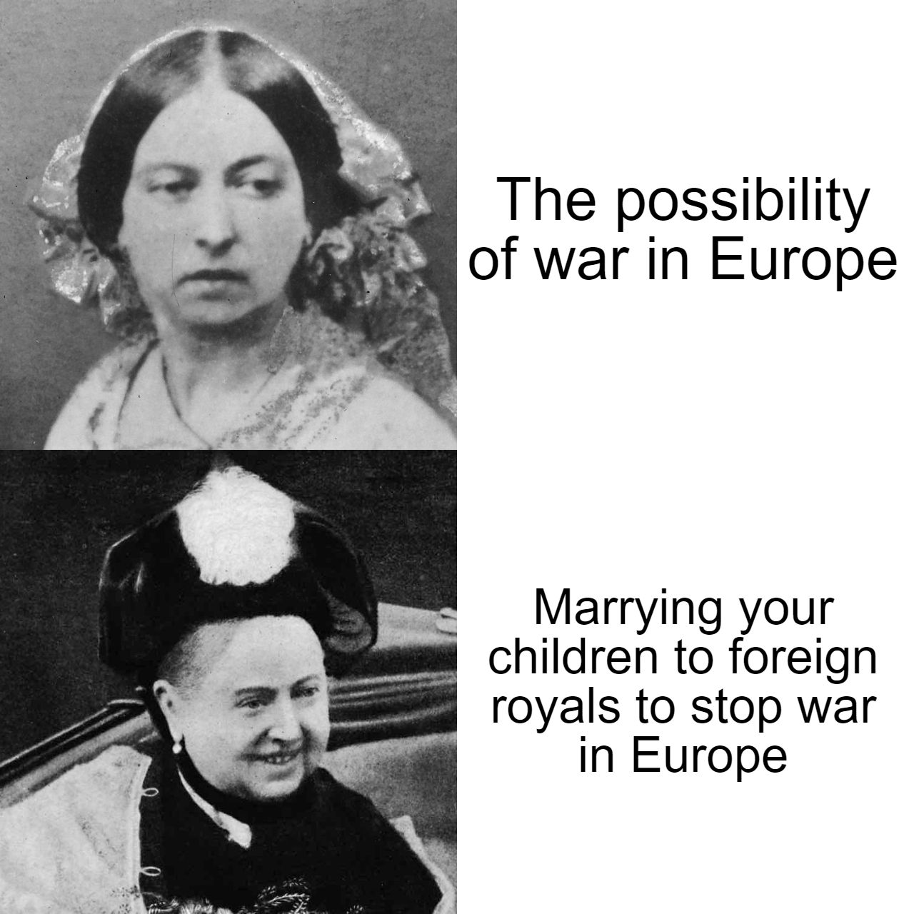 She was the grandmother of the King of the UK, Kaiser and grandmother-in-law of the Tsar