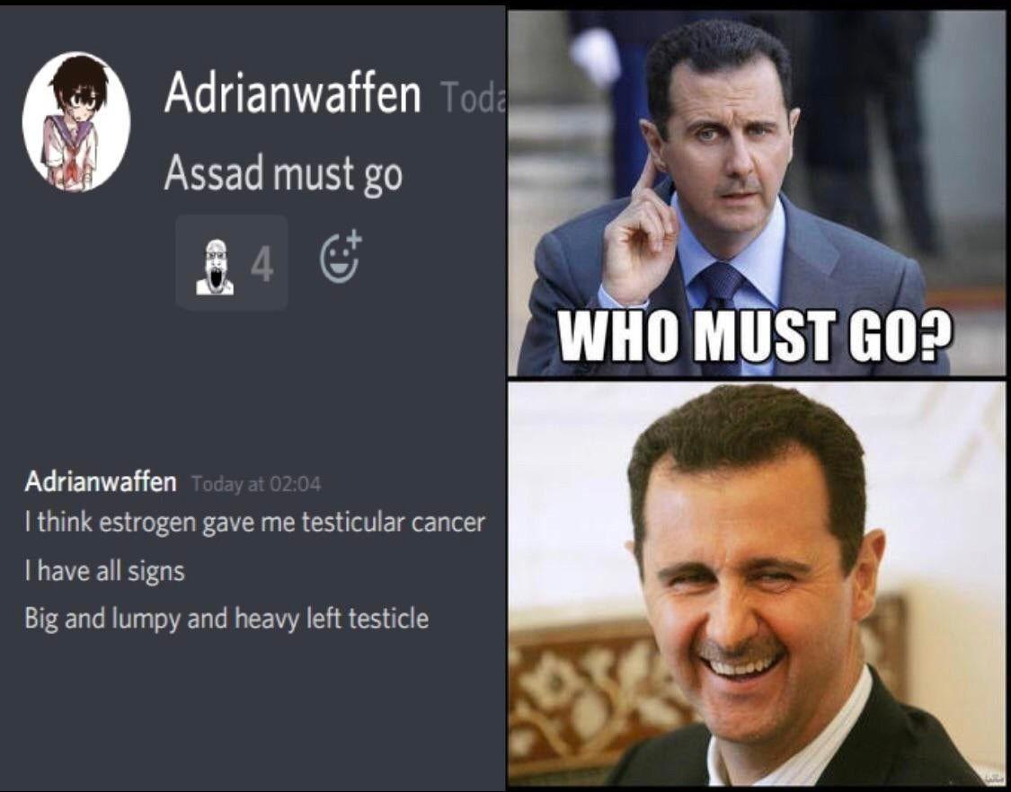 Based Assad is based