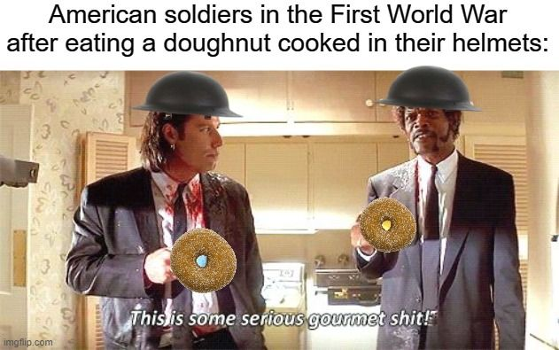 Do they have doughnuts in What?