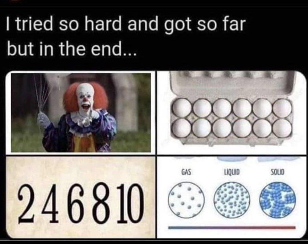 It dozen even matter