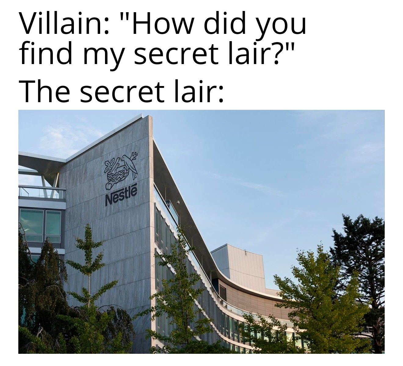 They do be evil