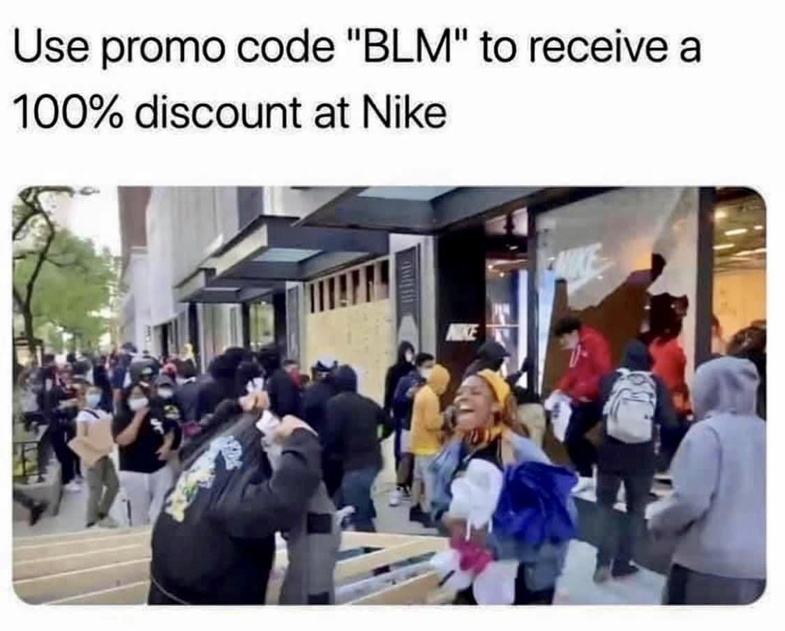 Promo Code BLM