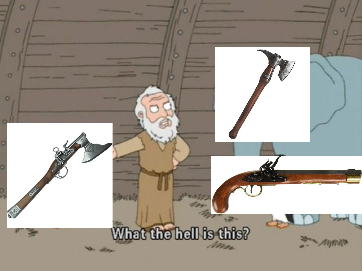 The glorious prussian axe pistol