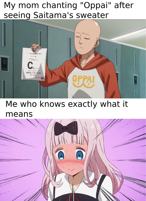 Sometimes I wonder why I watch anime with my mom