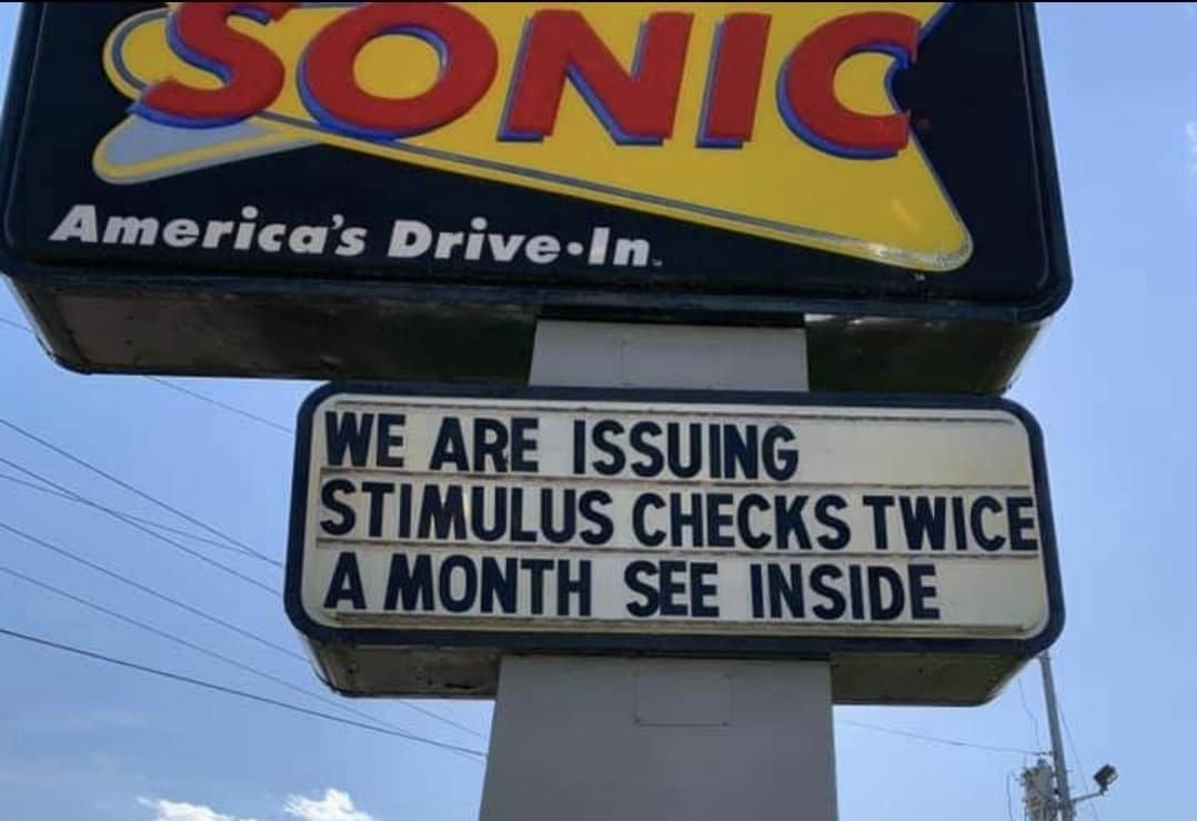 """This variation of the """"now hiring"""" sign at my local sonic"""