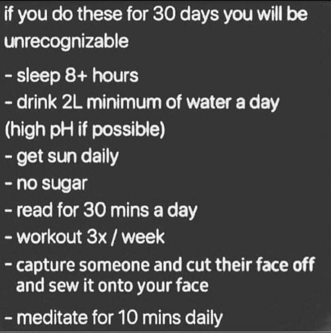 Finally a routine that works