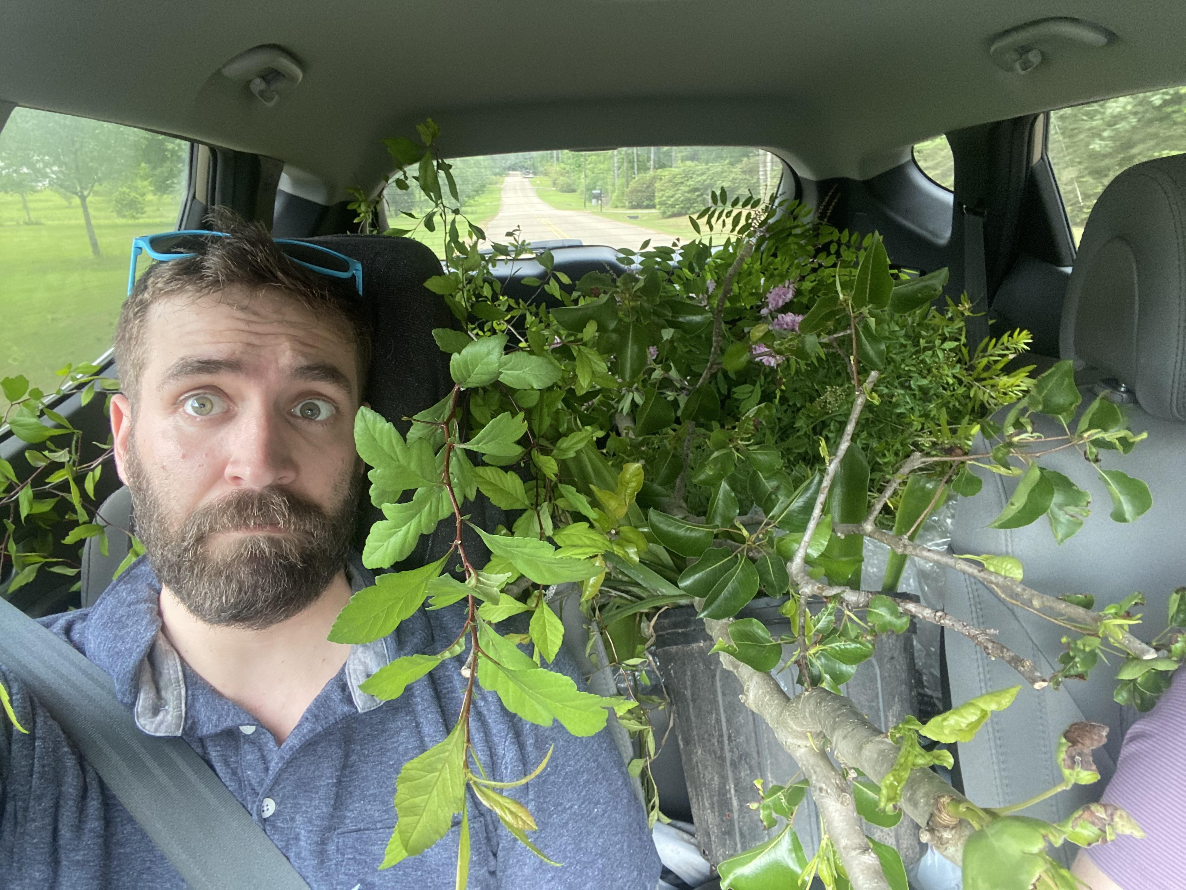 """Wife: """"Let's stop at this plant nursery, I just want to look."""""""