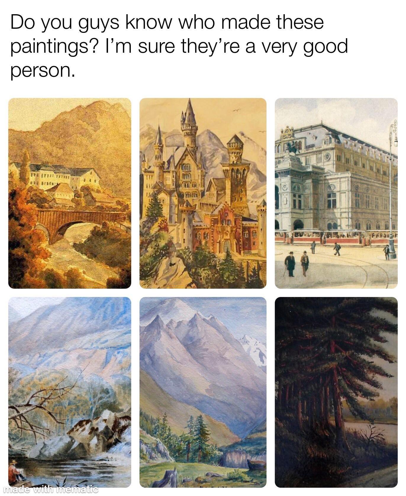 Very good artist