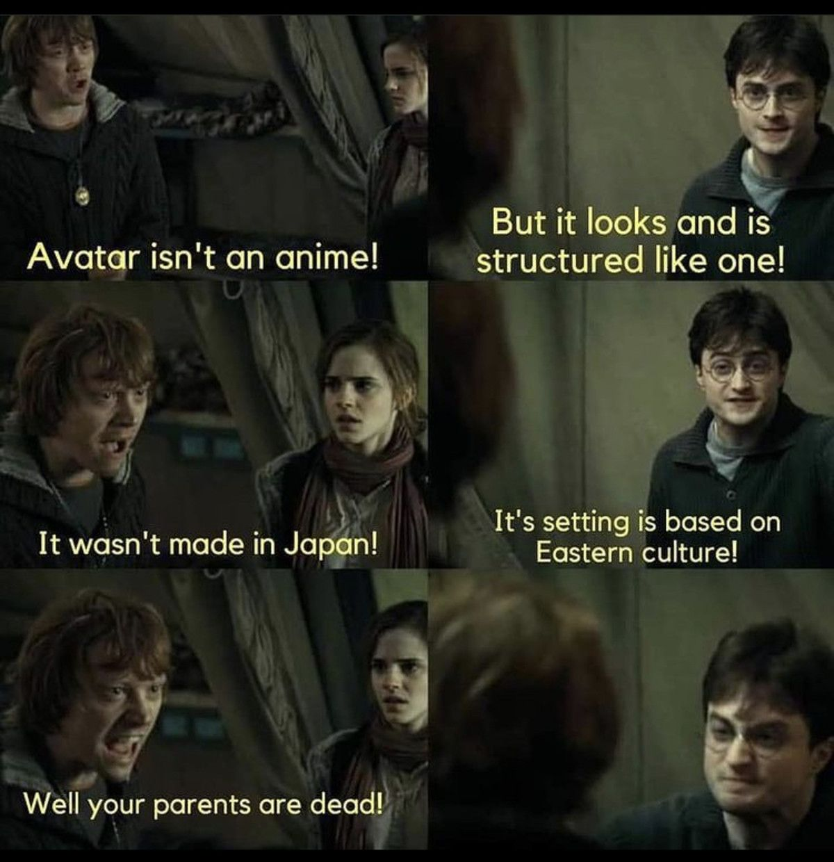 harry potter is an isekai