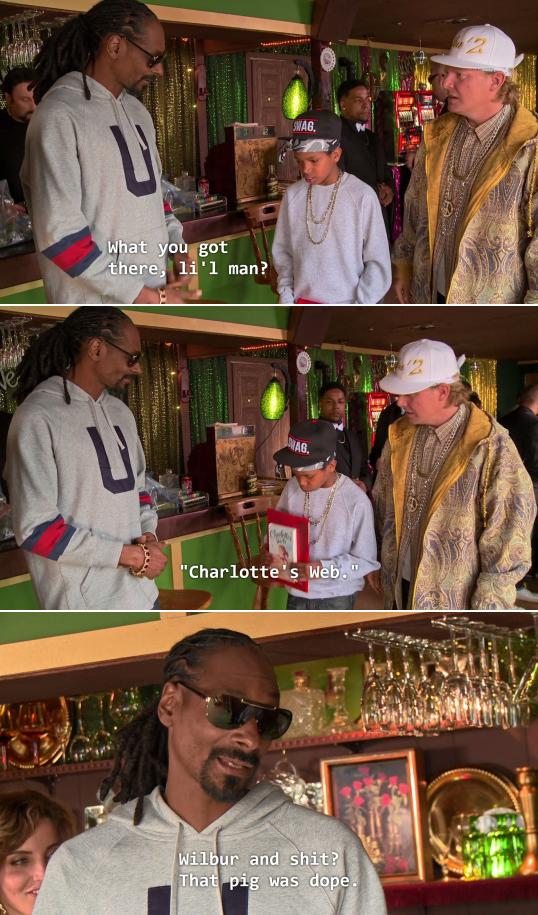 Snoop Dogg on Charlotte's Web