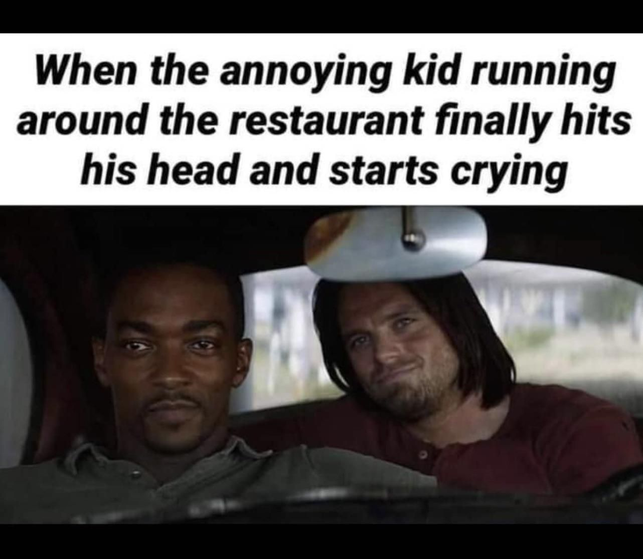 There's always that one kid at the restaurant
