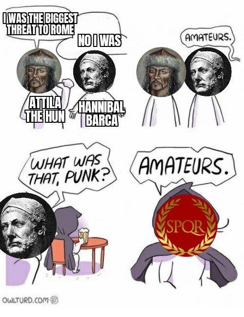 Romans ruined Rome