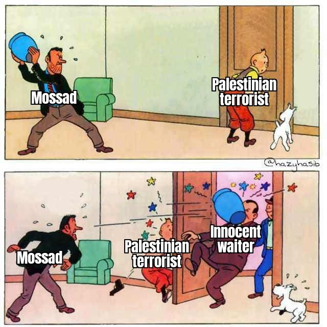Mossad's accident
