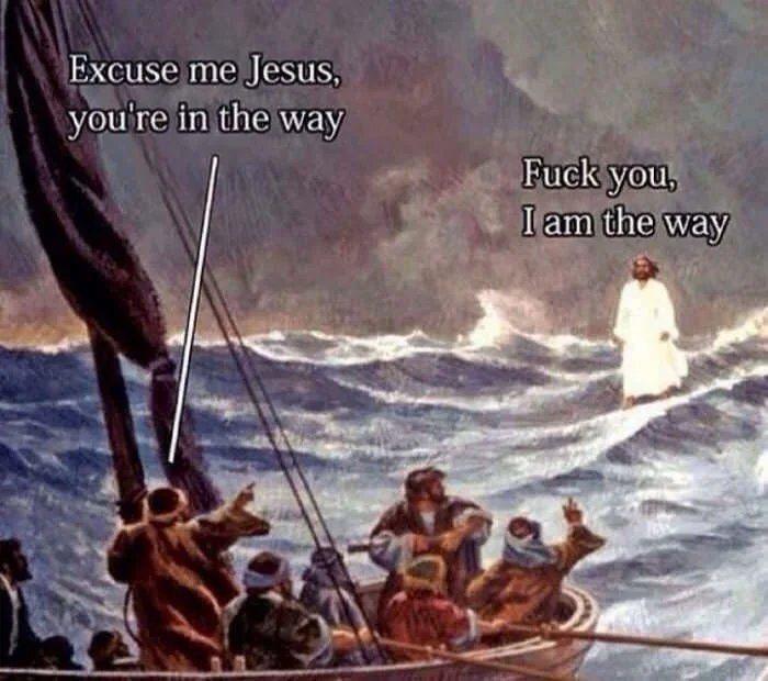 He is the way