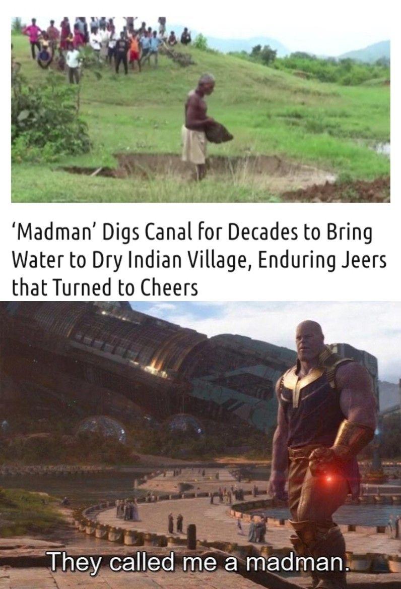 He deserves respect