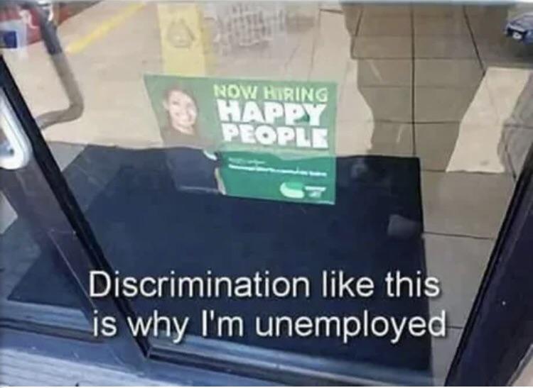 Unemployment at an all time high