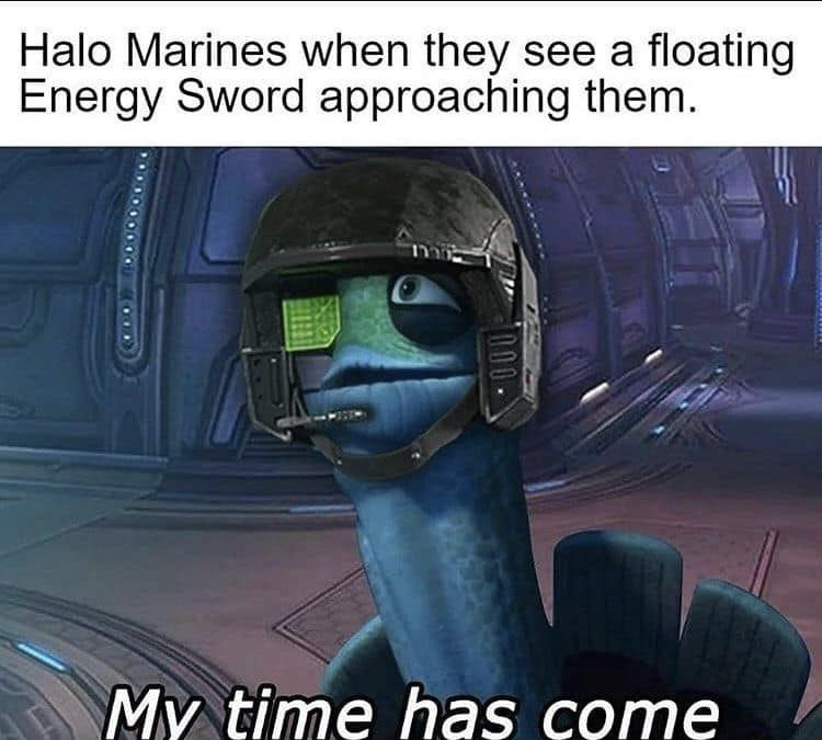 You thought I'd post a Doom meme without posting a Halo meme? Perfectly balanced