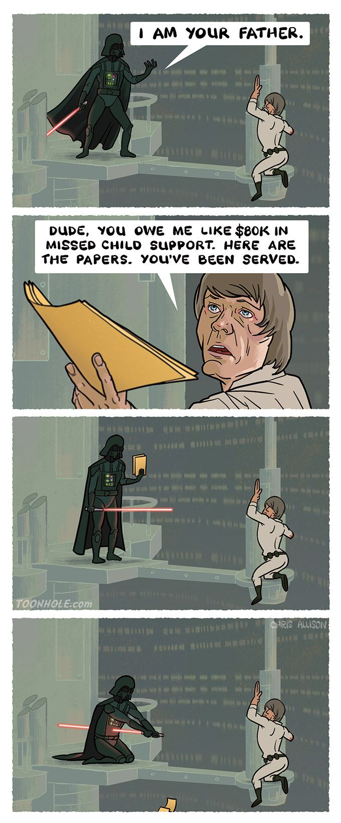 I am your father...