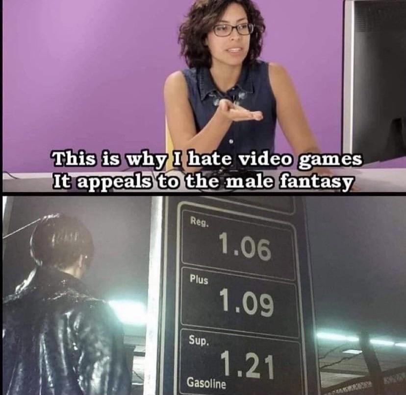 Male fantasy...