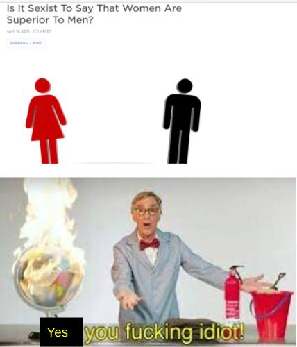 Bill Nye readies his flamethrower.