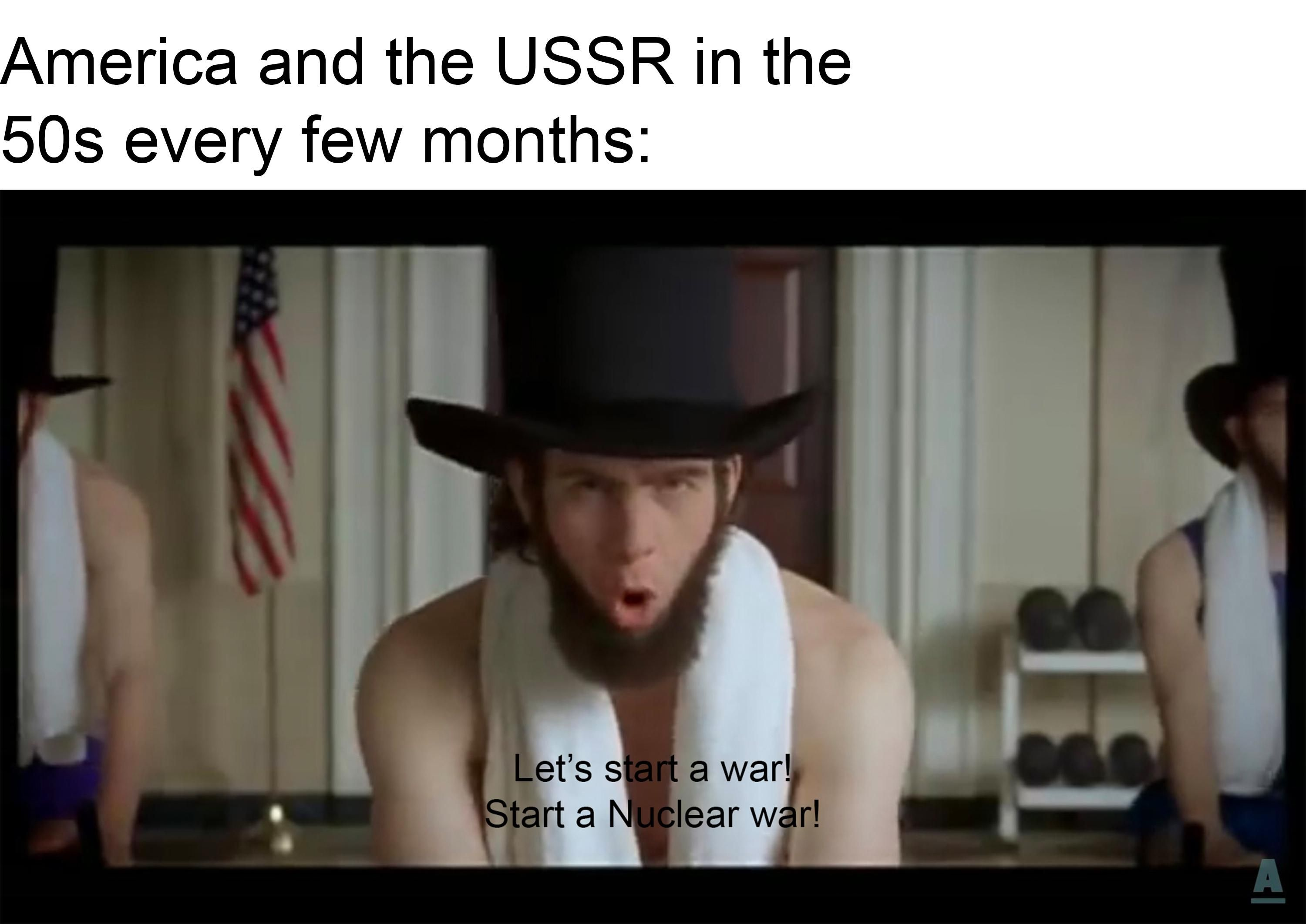 Who wants Cold War memes?