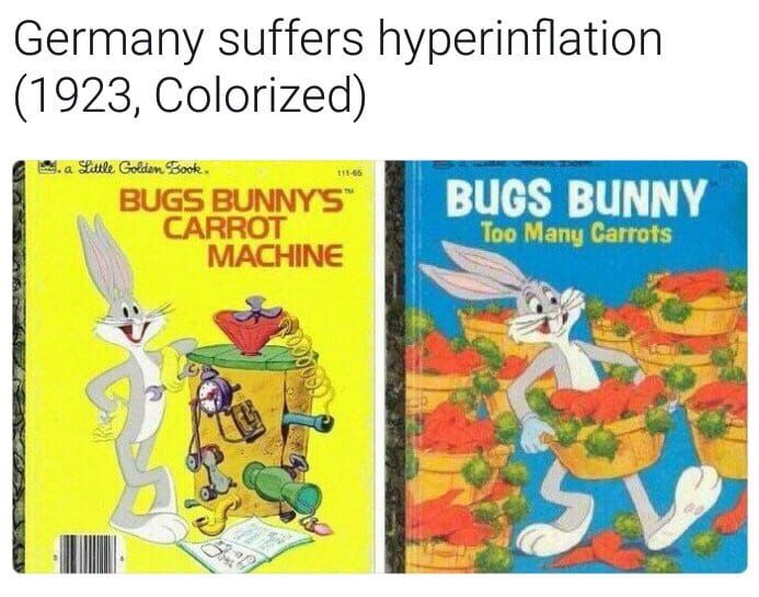 Germany suffers hyperinflation