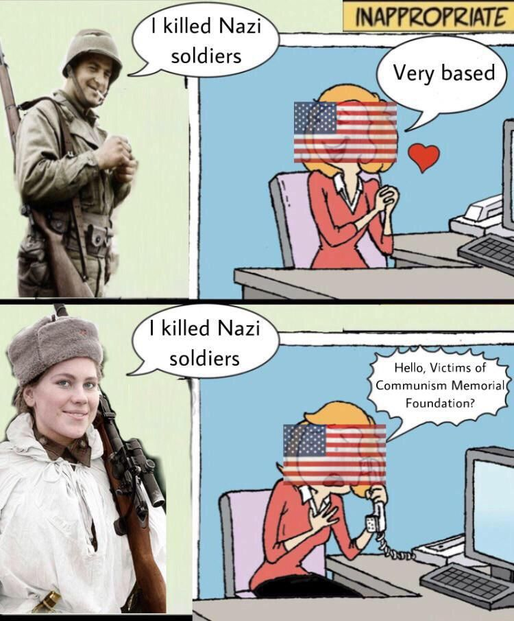 """""""Victims Of Communism"""" Include Germans During WW2"""