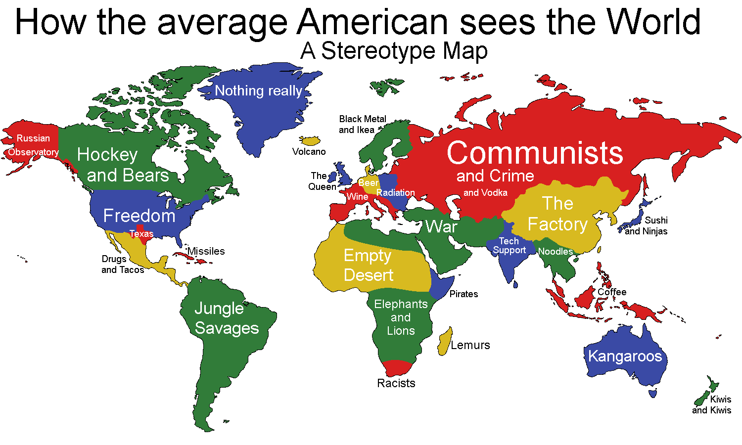 As an American I Can Confirm This Map's Accuracy