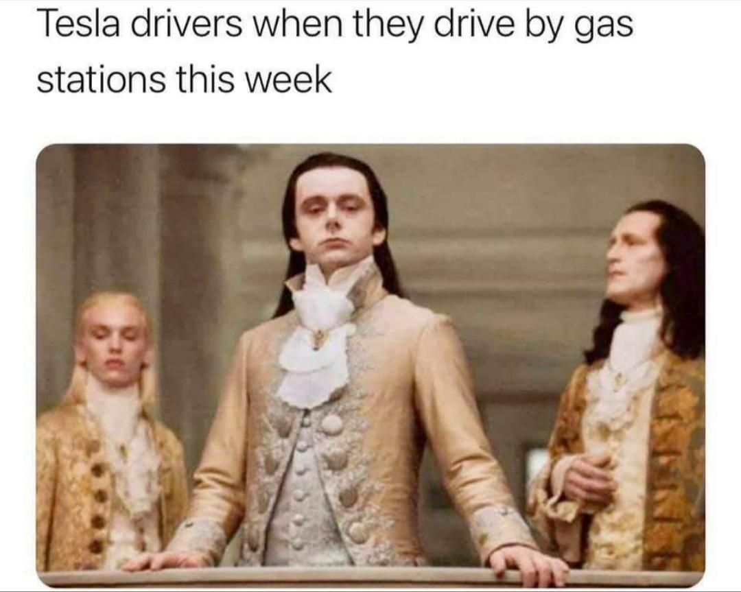 Low on gas are we?