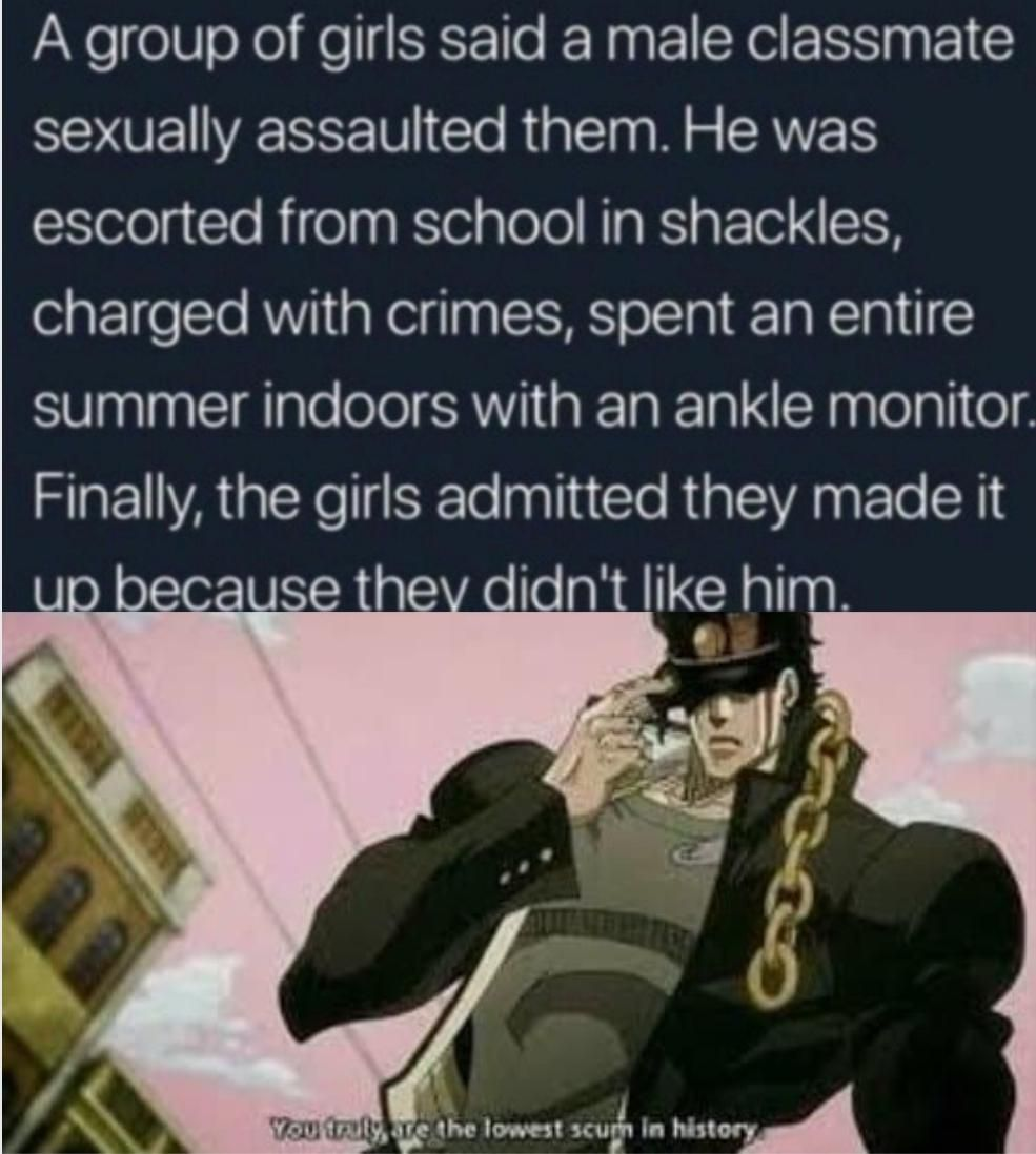 Truly disgusting