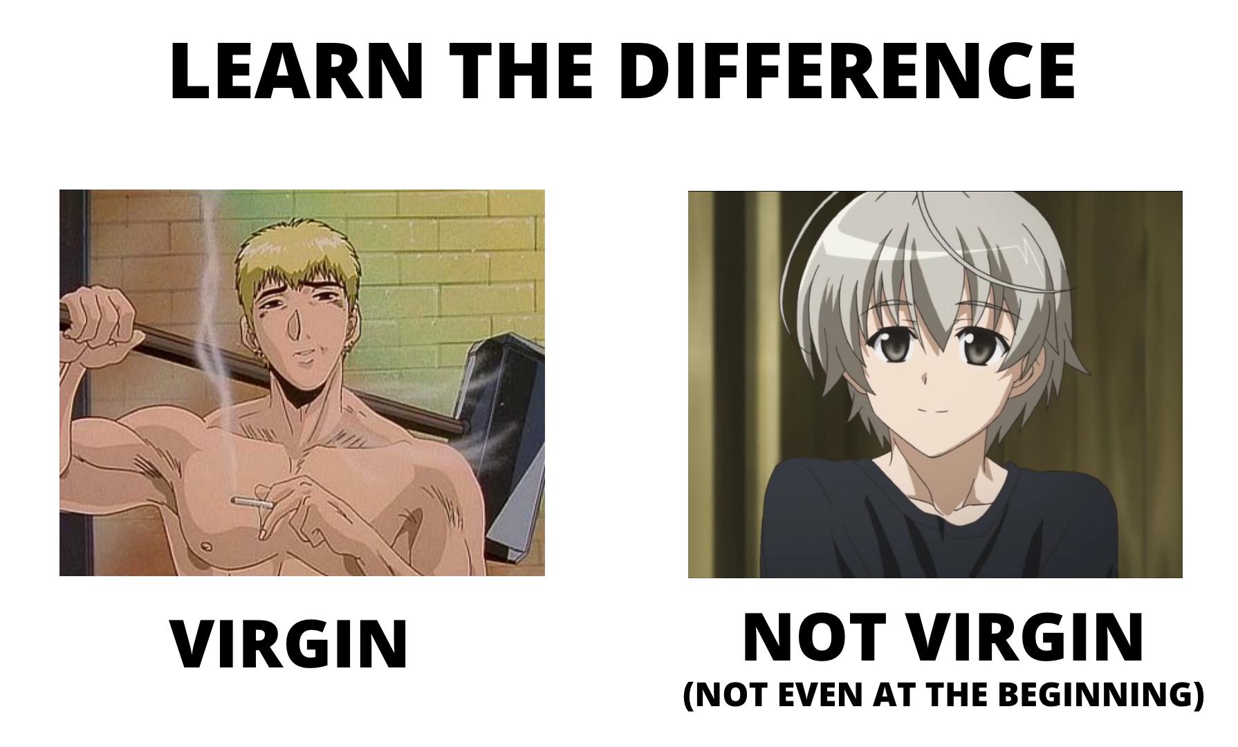 A Virgin Chad vs a Chad Virgin
