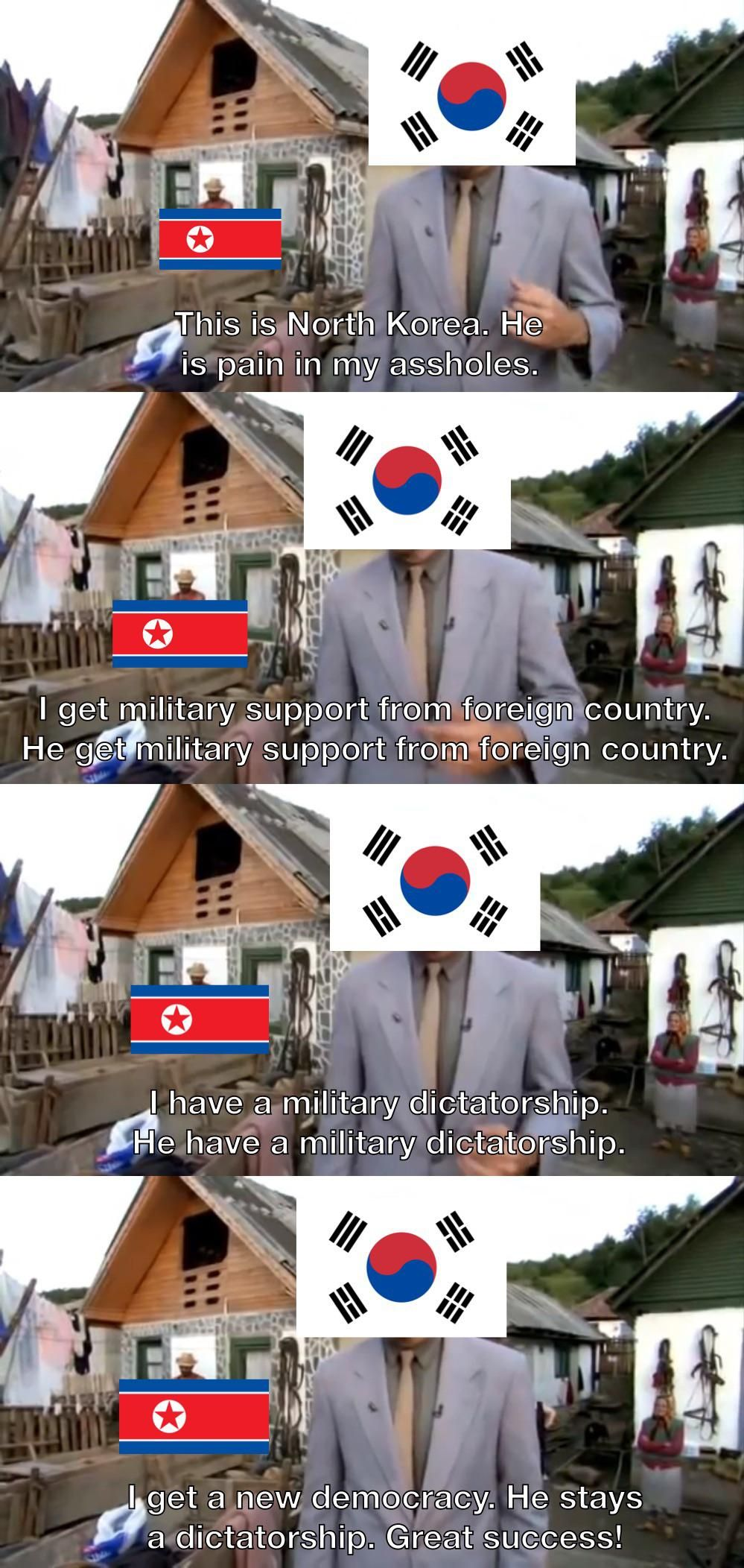 It will make glorious benefit for nation of Korea