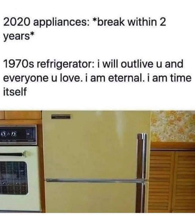 1970s refrigerators