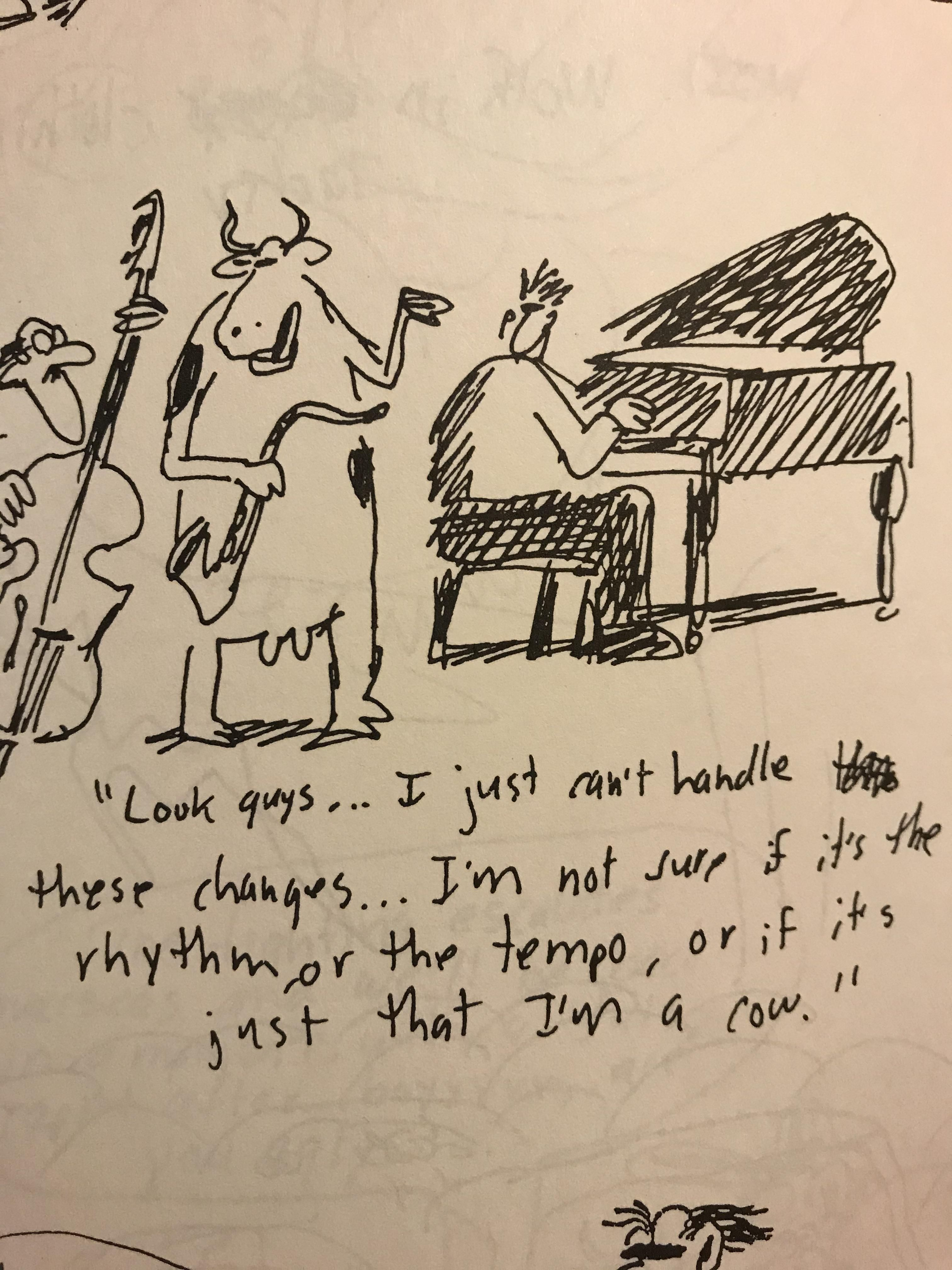 From an unpublished Gary Larson cartoon