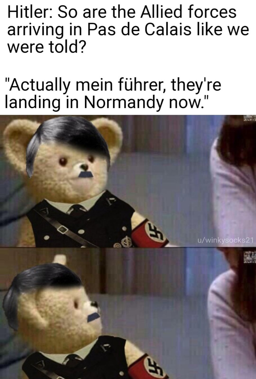 You heard him right, Normandy.