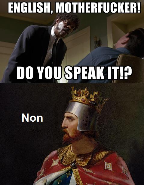 Richard the Lionheart be like