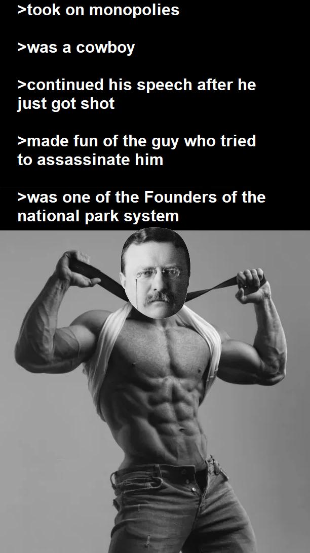 Gigachad Theodore Roosevelt