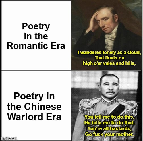 When hailed as China's 'basest warlord', Zhang Zongchang needed a damn good poem about ***s