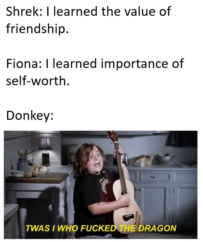 The morals of Shrek