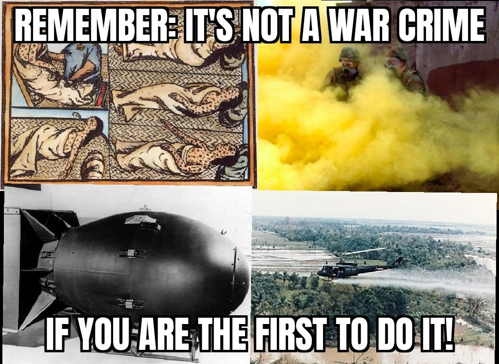 A war crime loophole!