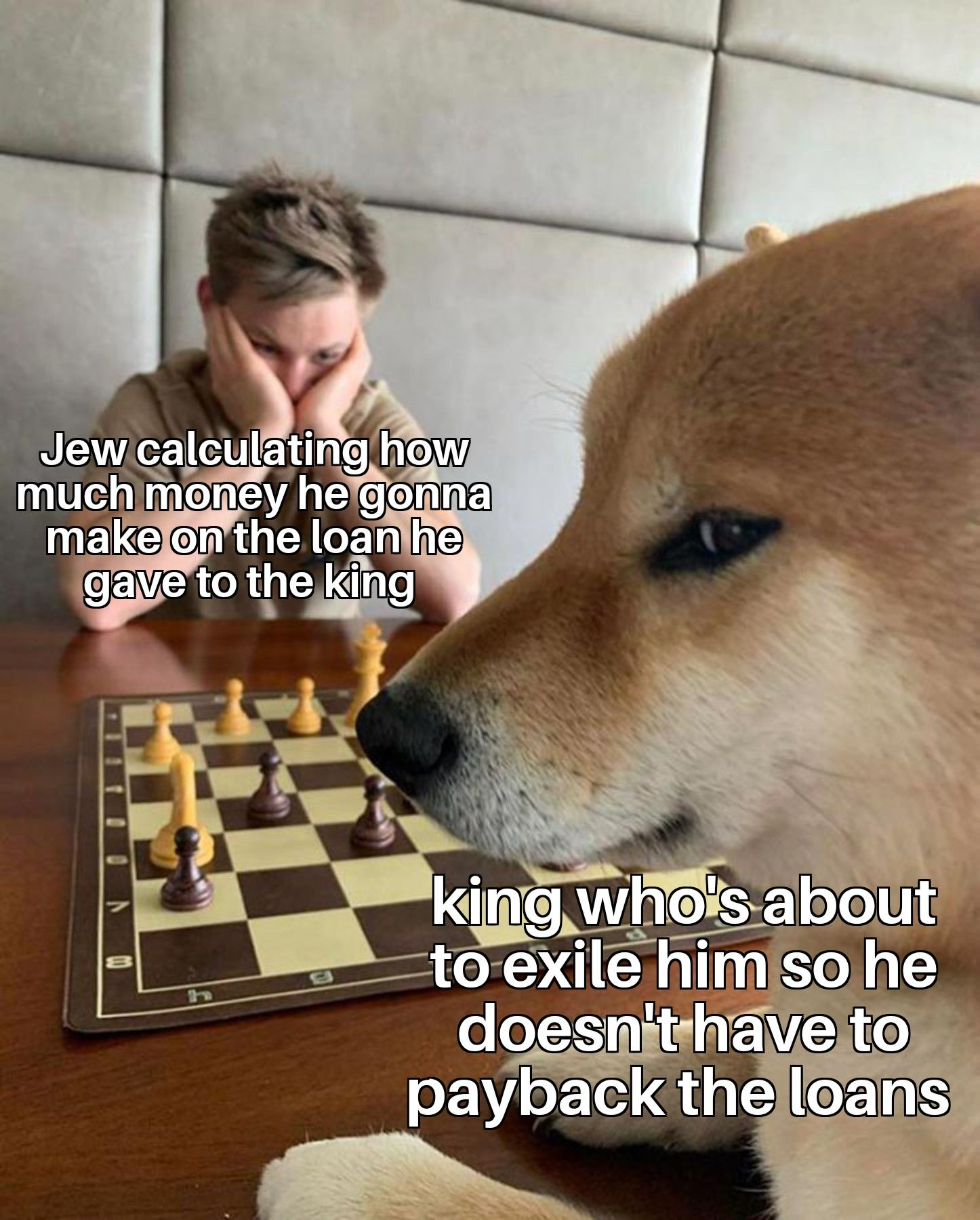 Real 4d chess by medieval European rulers