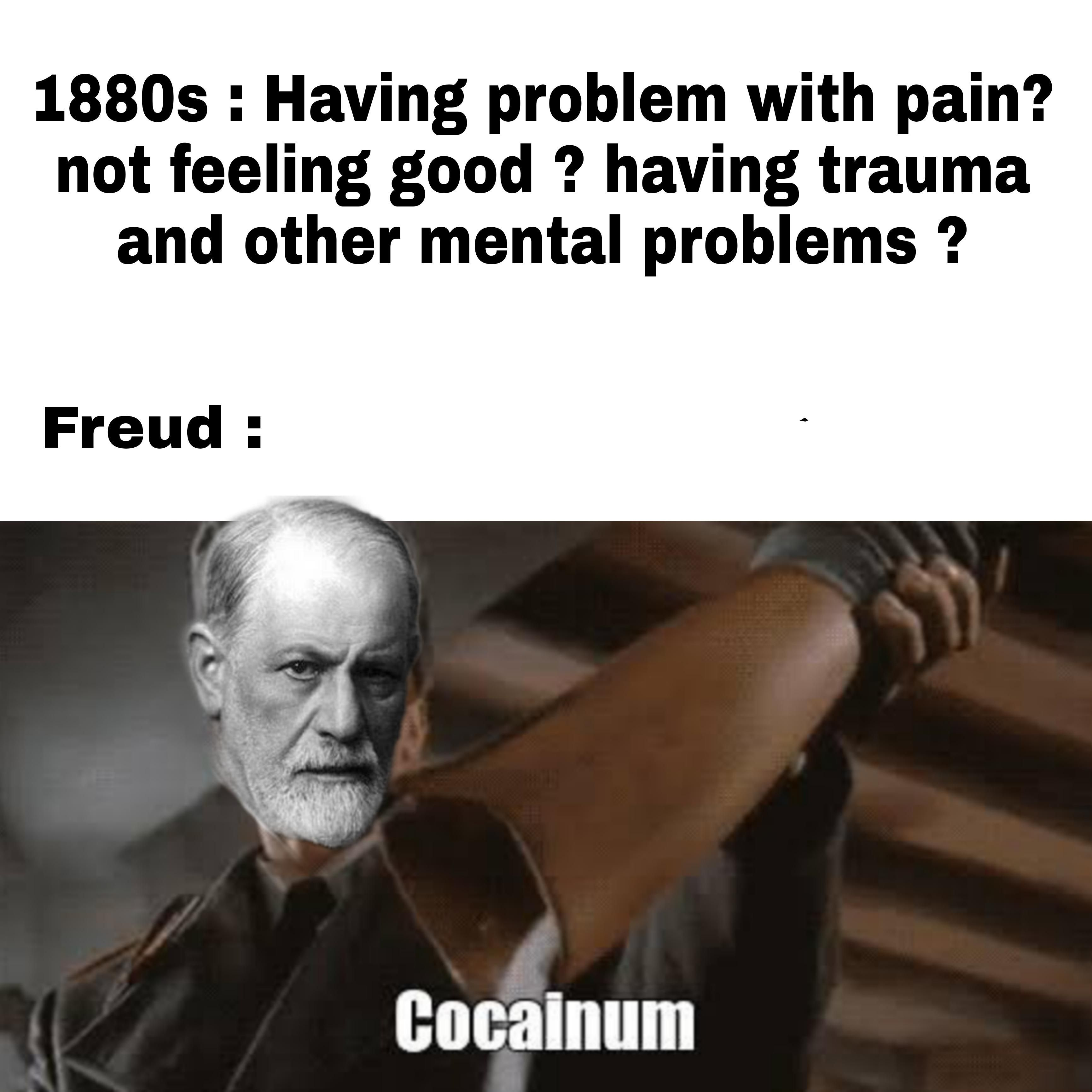 """Just normal Freud things tho :""""3"""