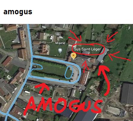 No way, it's amogus!