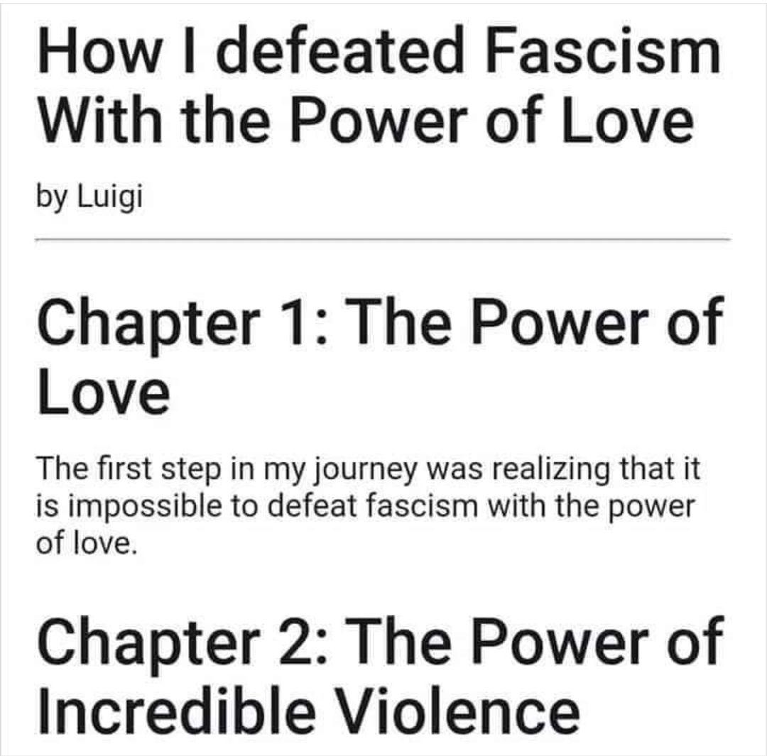 weaponized love