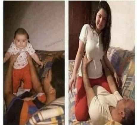 Probably not the best family picture to recreate...