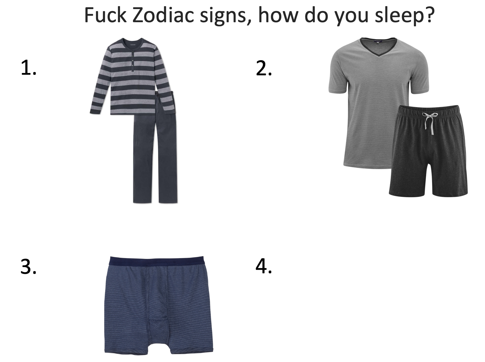I'm none of these because I don't sleep